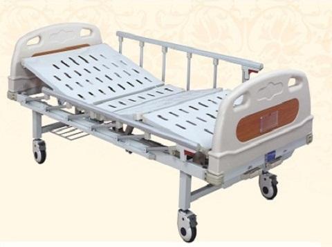 Giường bệnh nhân cao cấp 2 tay quay